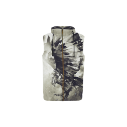 Eagle Bird Animal All Over Print Sleeveless Zip Up Hoodie for Kid (Model H16)