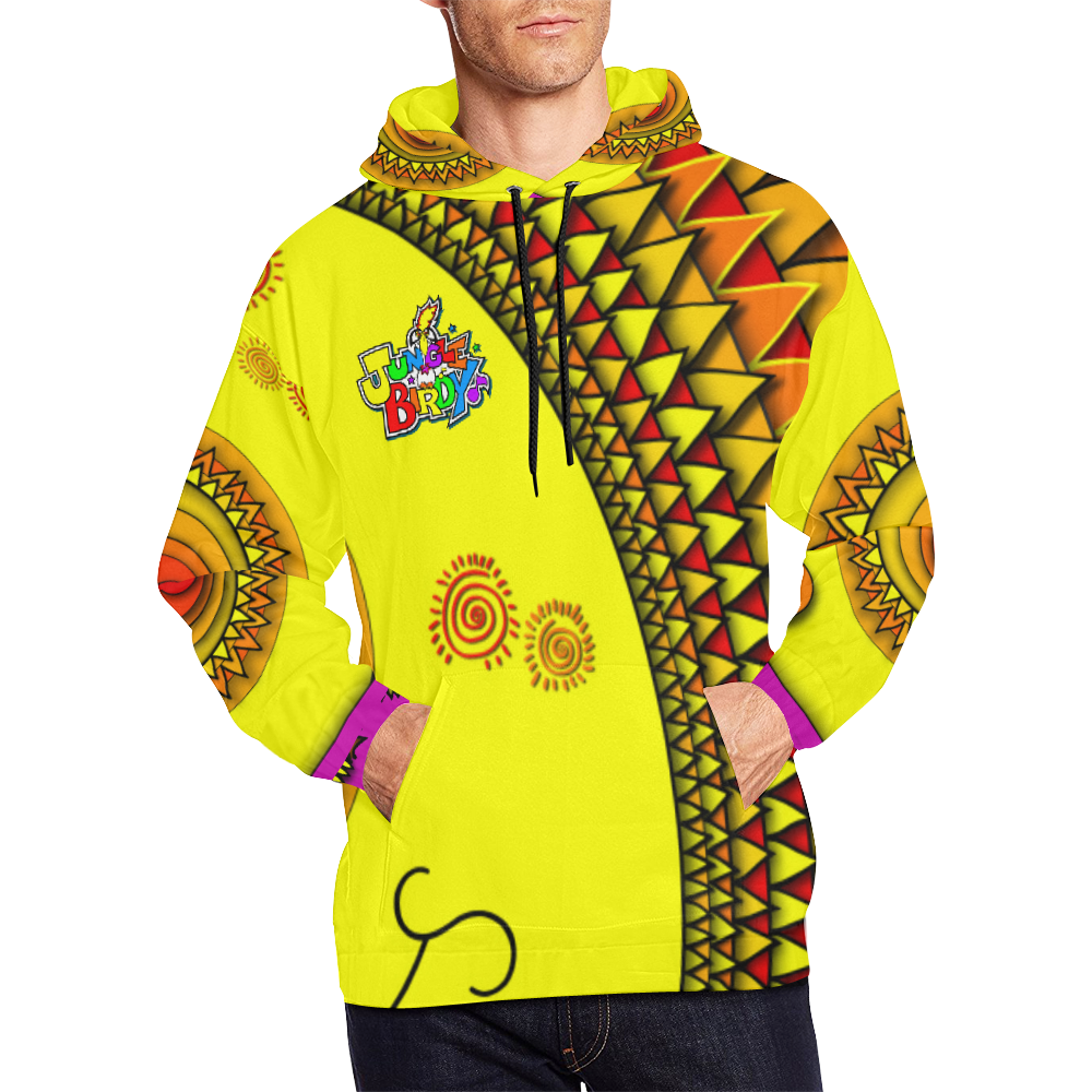 JUNGLEBIRDY - SUN OF JUNGLEBIRDY HOODIE All Over Print Hoodie for Men (USA Size) (Model H13)