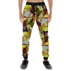 Graffiti Style - Markings on Watercolors Men's All Over Print Sweatpants (Model L11)
