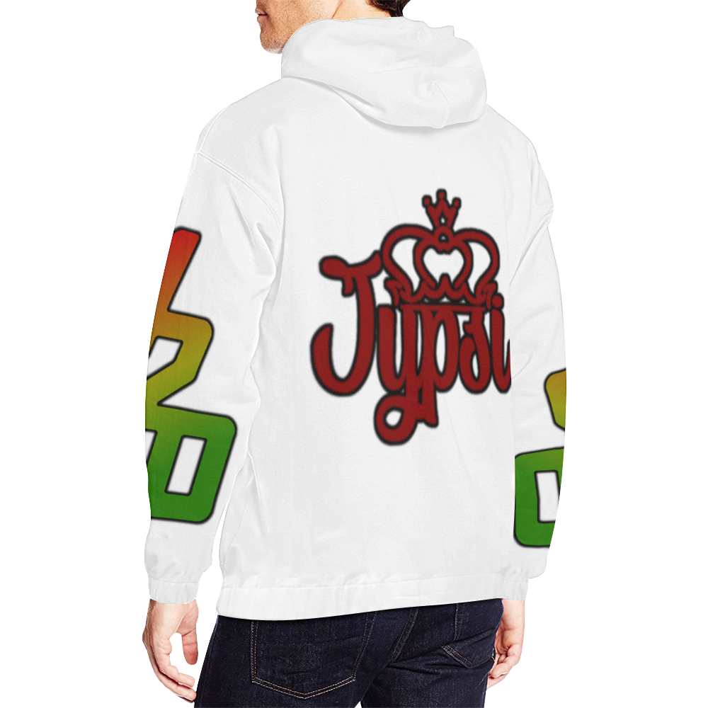 Jypsi ISF_Dab All Over Print Hoodie for Men (USA Size) (Model H13)
