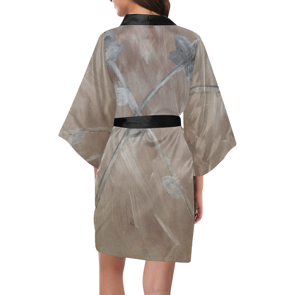 Silver on Copper Kimono Robe