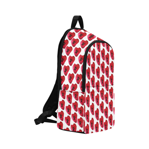 wonky pattern Fabric Backpack for Adult (Model 1659)
