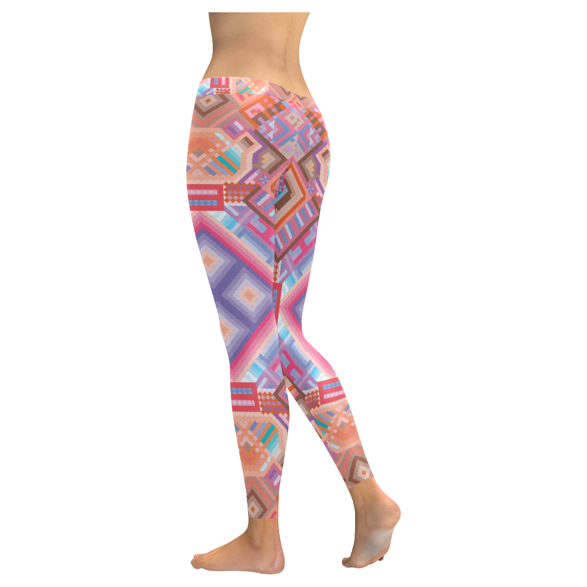 Researcher Low Rise Leggings (Invisible Stitch) (Model L05)
