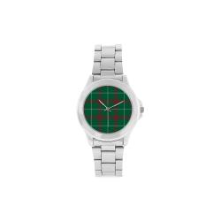 Welsh National Tartan Unisex Stainless Steel Watch(Model 103)