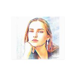 "Julia Poster 20""x16"""