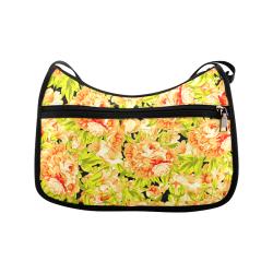Colorful Flower Pattern Crossbody Bags (Model 1616)