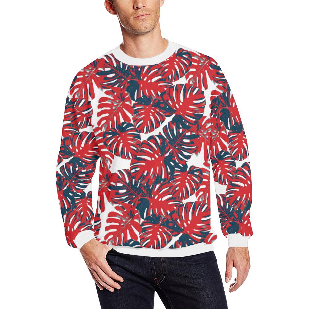 cp hope lge Men's Oversized Fleece Crew Sweatshirt (Model H18)