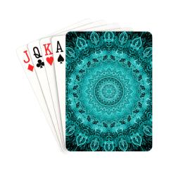 "mandala paon 21 Playing Cards 2.5""x3.5"""
