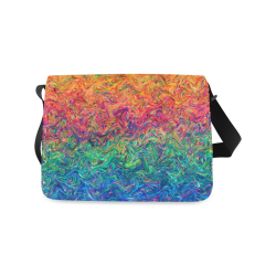 Fluid Colors G249 Messenger Bag (Model 1628)