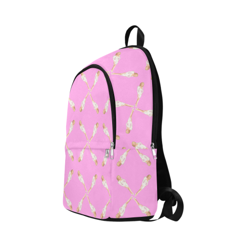 dolly pink Fabric Backpack for Adult (Model 1659)