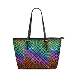 brilante Leather Tote Bag/Small (Model 1640)