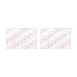 Pattern Orchidées Placemat 12'' x 18'' (Two Pieces)
