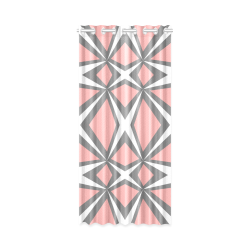 "geometric fantasy New Window Curtain 50"" x 108""(One Piece)"