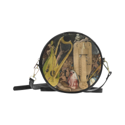 Hieronymus Bosch-The Garden of Earthly Delights (m Round Sling Bag (Model 1647)