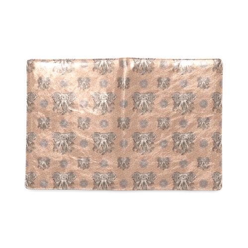 Ethnic Elephant Mandala Pattern Custom NoteBook B5