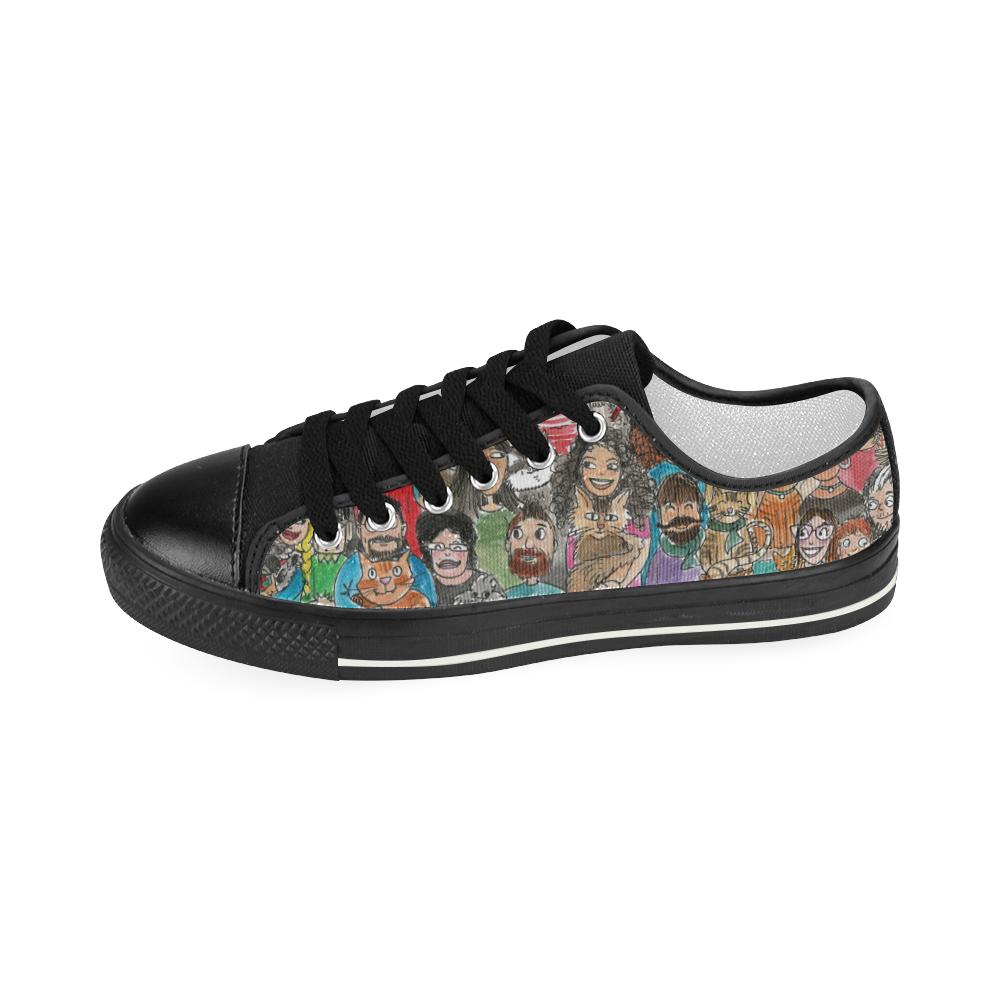 animal's love Women's Classic Canvas Shoes (Model 018)