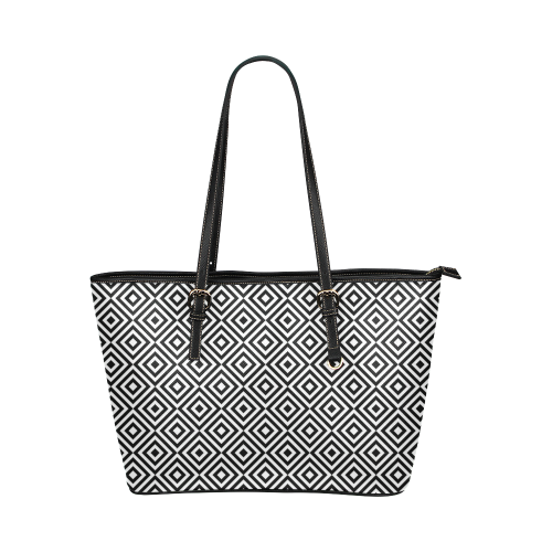 28sw Leather Tote Bag/Small (Model 1651)
