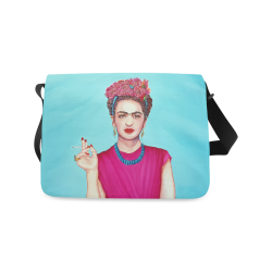 FRIDA IN THE PINK Messenger Bag (Model 1628)