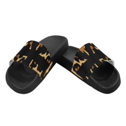 CHEETAH ANKH Women's Slide Sandals (Model 057)
