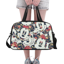 Mickey Mouse Fitness Handbag (Model 1671)