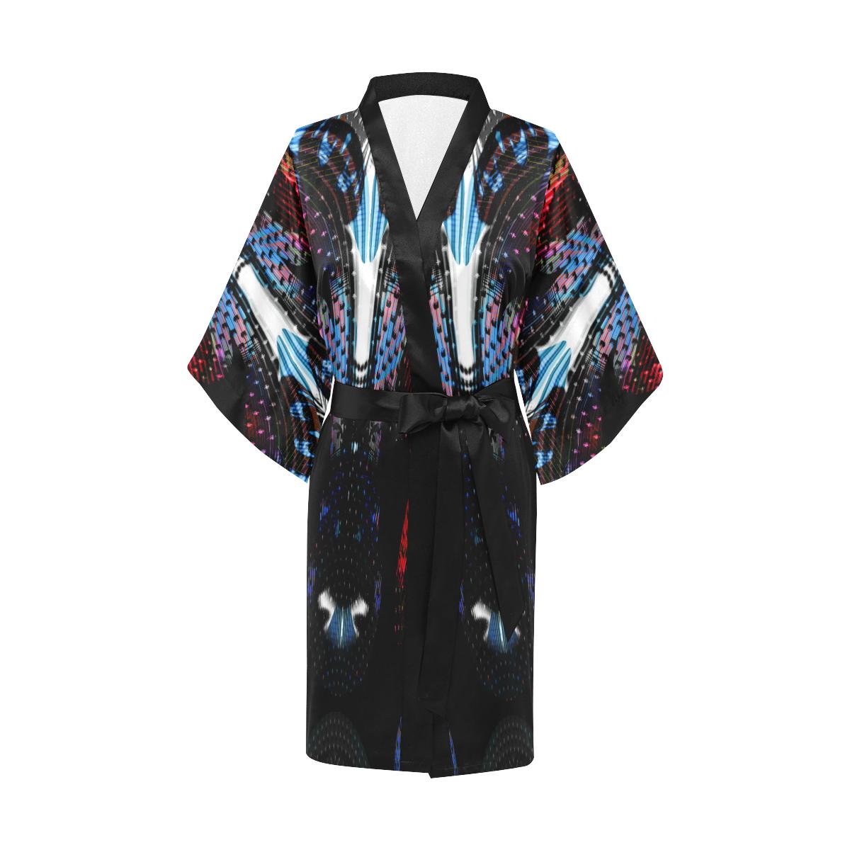 Alien Party Ram Deep Kimono Robe