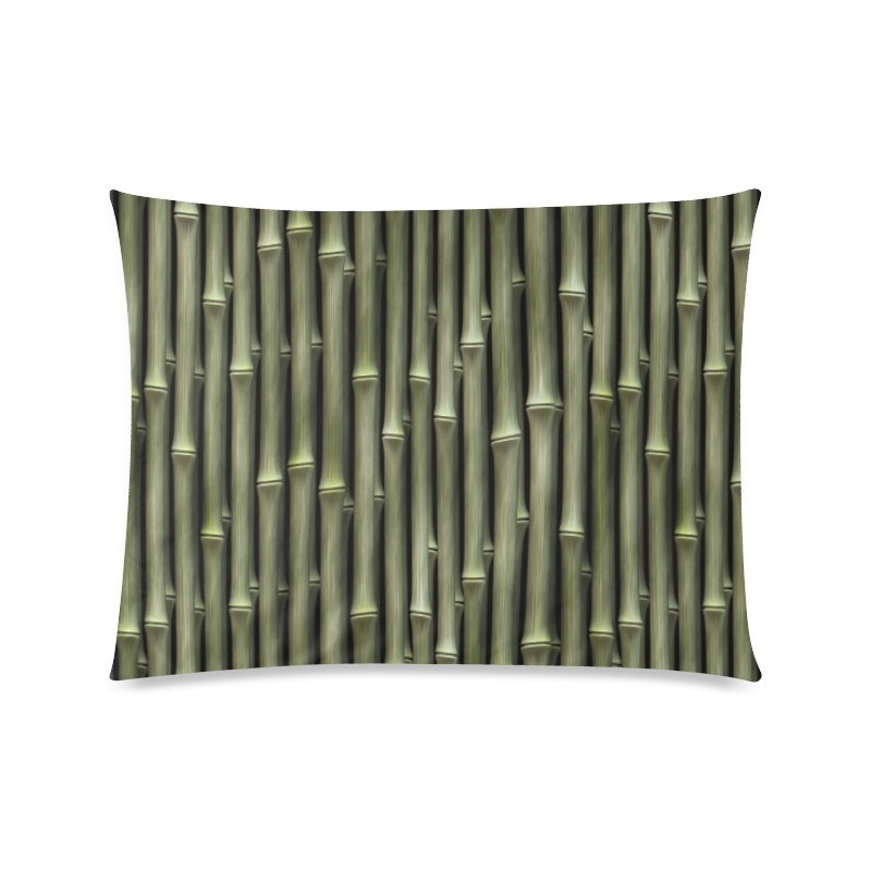 """Bamboo forest Custom Picture Pillow Case 20""""x26"""" (one side)"""