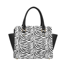 Zebra Animal Pattern Classic Shoulder Handbag (Model 1653)