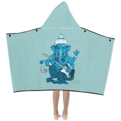 Ganesha rocks ! Kids' Hooded Bath Towels
