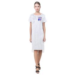 No. 1 Vegan Short Sleeves Casual Dress(Model D14)