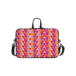 Triangle Pattern - Red Purple Pink Orange Yellow Macbook Pro 15''