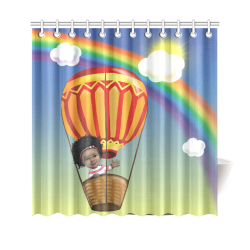 "Anaiah's Shower Curtain Shower Curtain 69""x70"""