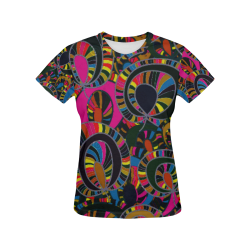 bb 00258 All Over Print T-Shirt for Women (USA Size) (Model T40)