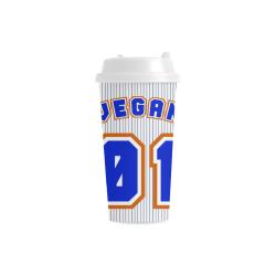 No. 1 Vegan Double Wall Plastic Mug