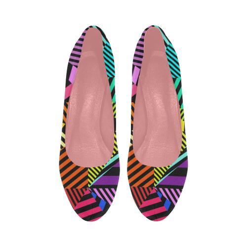 abstracto en color Women's High Heels (Model 044)