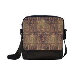 NB Pattern by Nico Bielow Crossbody Nylon Bags (Model 1633)