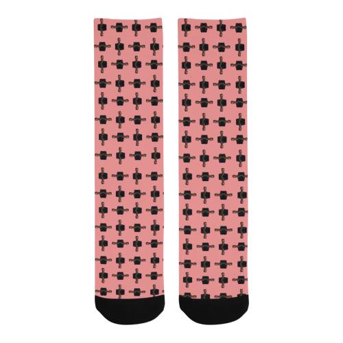 grace pink Trouser Socks