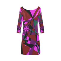 Abstract #13 2020 Bateau A-Line Skirt (D21)