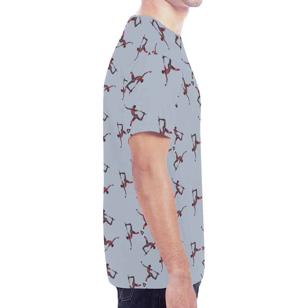grace2 trans New All Over Print T-shirt for Men (Model T45)