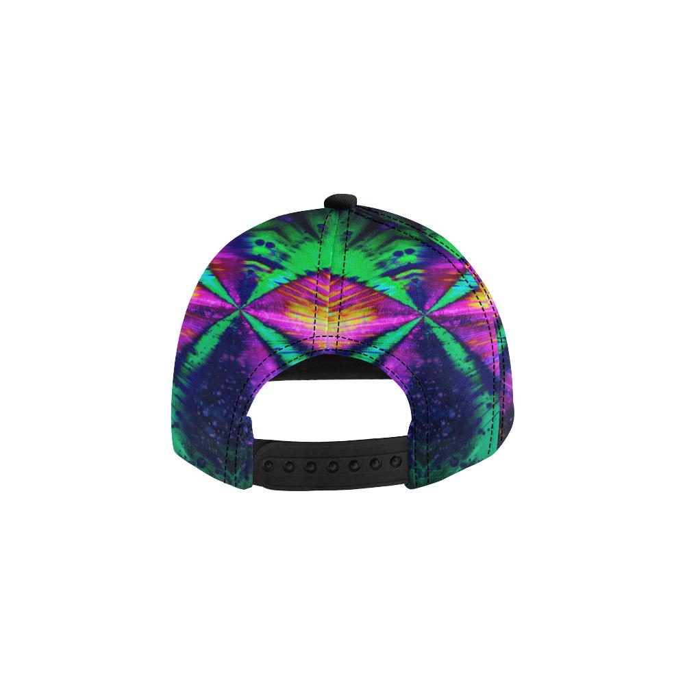 wheelVibe_vibe23 All Over Print Snapback Hat D