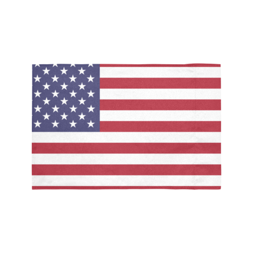 United States of America flag Motorcycle Flag (Twin Sides)