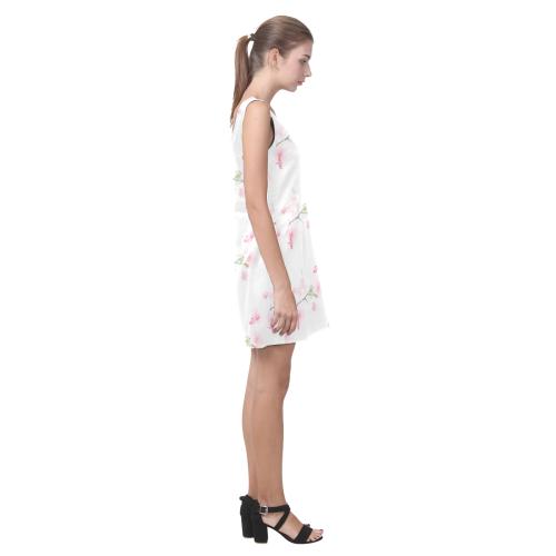 Pattern Orchidées Helen Sleeveless Dress (Model D10)