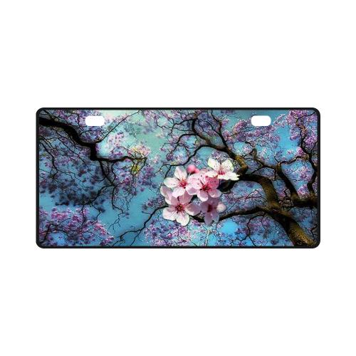 Cherry blossomL License Plate