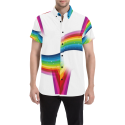 Pride by Popartlover Men's All Over Print Short Sleeve Shirt (Model T53)