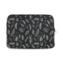 BLACK DANCING LEAVES Macbook Air 13""