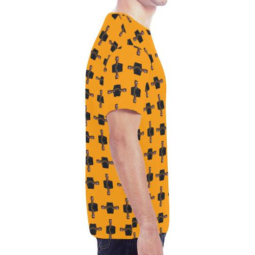 grace trans New All Over Print T-shirt for Men (Model T45)