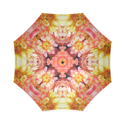 kal8_yelloworange_daisy Foldable Umbrella (Model U01)