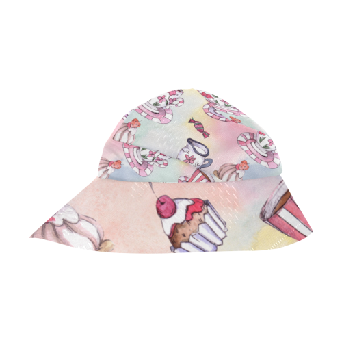 Coffee and sweeets New Style Bucket Hat
