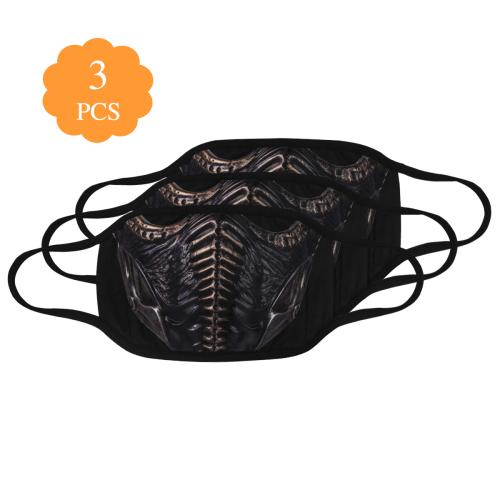 Noob Saibot mask Mouth Mask (Pack of 3)