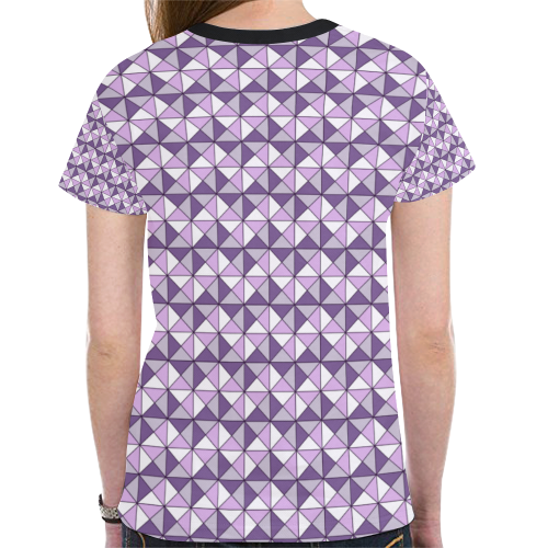 geometry New All Over Print T-shirt for Women (Model T45)