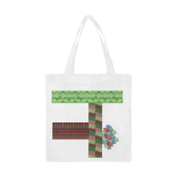 Aamu by Vaatekaappi Canvas Tote Bag/Small (Model 1700)
